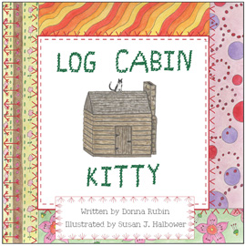 log cabin kitty